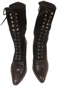 Other Leather Vintage Black Boots
