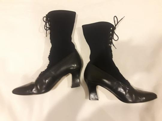 Other Leather Vintage Black Boots Image 1