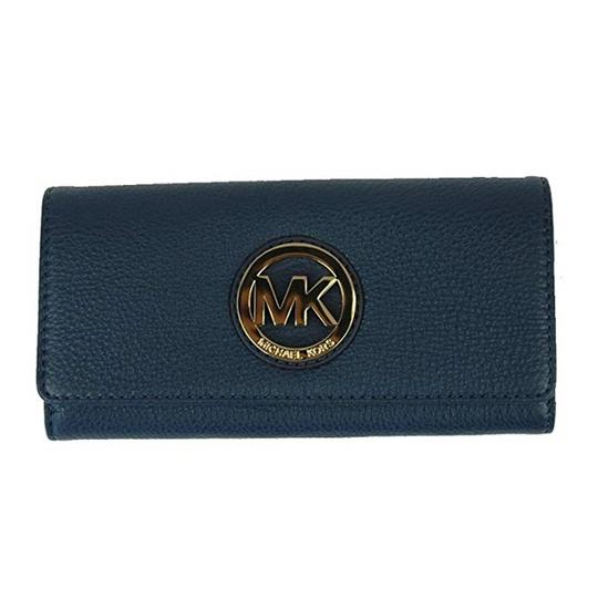 Michael Kors Michael Kors Women's Fulton Carryall Leather Wallet Image 4