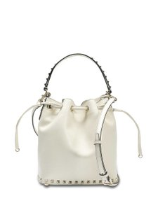 Valentino Rockstud Embellished Classic Bucket Totes Cross Body Bag