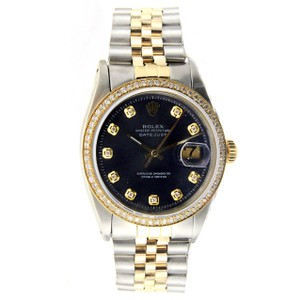 Rolex Vintage Rolex Datejust 36MM Stainless Steel and Yellow Gold with Diamo
