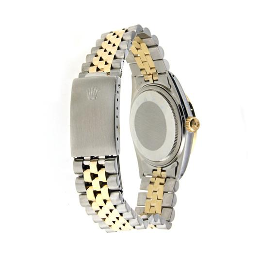 Rolex Vintage Rolex Datejust 36MM Stainless Steel and Yellow Gold with Diamo Image 2
