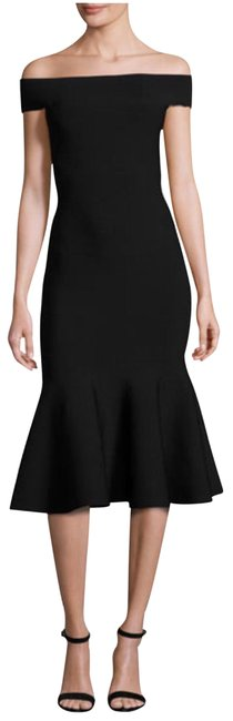 Preload https://img-static.tradesy.com/item/24198687/milly-black-off-the-shoulder-mermaid-midi-mid-length-night-out-dress-size-6-s-0-1-650-650.jpg