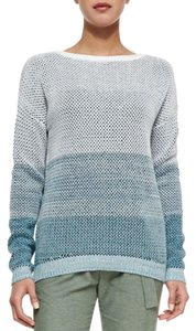 Vince Ombre Stripe Theory Cotton Sweater