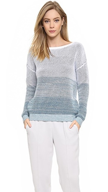 Vince Ombre Stripe Theory Cotton Sweater Image 2