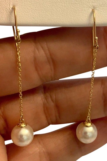 Preload https://img-static.tradesy.com/item/24198729/white-certified-ladys-akoya-pearl-935-mm-14kt-yg-21043-earrings-0-1-540-540.jpg