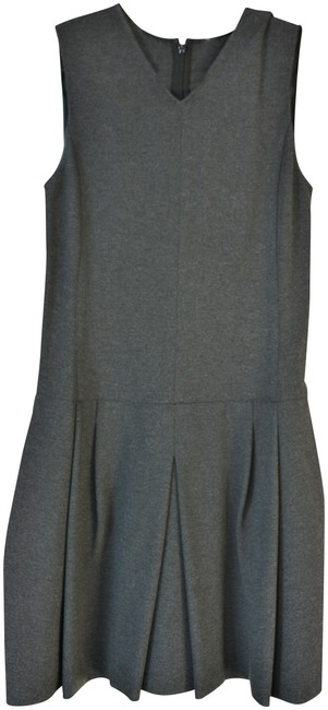Preload https://img-static.tradesy.com/item/24198735/vince-grey-charcoal-shift-mid-length-workoffice-dress-size-4-s-0-1-650-650.jpg