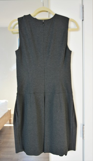 Vince Shiftdress Sleeveless Pleated Neutral Dress Image 1