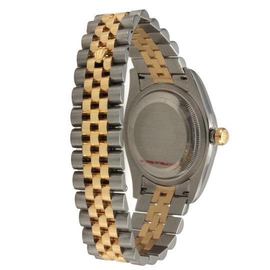 Rolex Rolex Datejust 36MM Steel and Yellow Gold Image 2