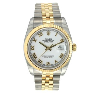 Rolex Rolex Datejust 36MM Steel and Yellow Gold
