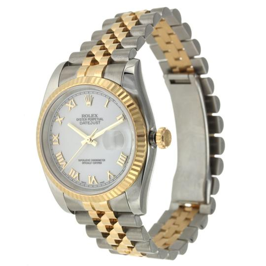 Rolex Rolex Datejust 36MM Steel and Yellow Gold Image 1