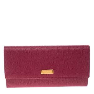 Chopard Red Leather Miss Happy Continental Wallet