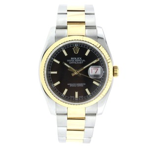 Rolex Rolex Datejust 36MM Stainless Steel and Yellow Gold
