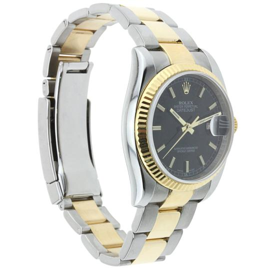 Rolex Rolex Datejust 36MM Stainless Steel and Yellow Gold Image 1