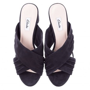 Clarks Elegant Sandal Black Pumps