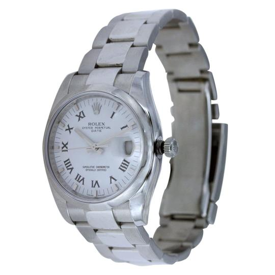 Rolex Rolex Date 34MM Stainless Steel Image 1