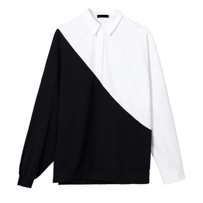 ME-Boutiques Private Label Collection Top black & white Image 3