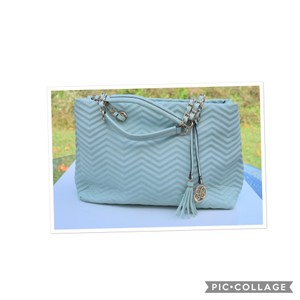 Perlina Tote in Mint green