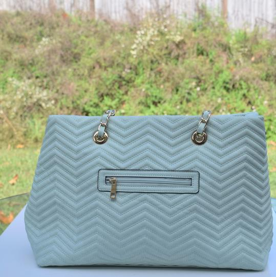 Perlina Tote in Mint green Image 5