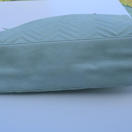Perlina Tote in Mint green Image 7