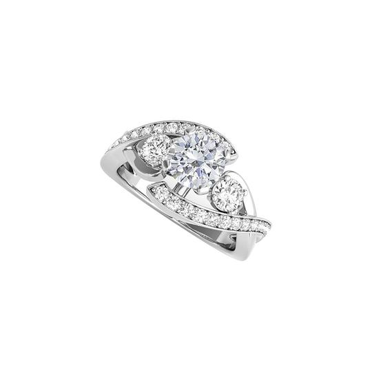 Preload https://img-static.tradesy.com/item/24198983/white-round-shaped-cz-engagement-in-925-sterling-silver-ring-0-0-540-540.jpg