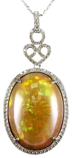 Preload https://img-static.tradesy.com/item/24198990/orange-and-silver-oval-fire-opal-diamond-halo-solitaire-lady-s-pendant-14k-wg-2730ct-necklace-0-1-540-540.jpg