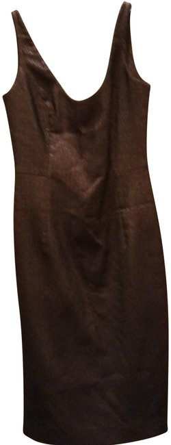 Preload https://img-static.tradesy.com/item/24199041/milly-metallic-brown-cutout-back-fitted-mid-length-cocktail-dress-size-2-xs-0-1-650-650.jpg