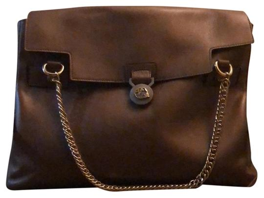 Preload https://img-static.tradesy.com/item/24199083/versace-collection-gold-chain-and-made-in-italy-bronze-genuine-leather-satchel-0-3-540-540.jpg