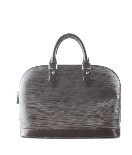 Louis Vuitton Leather Satchel in Brown Image 4