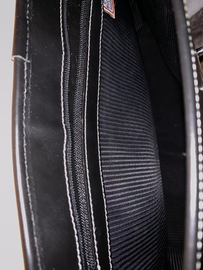 Dooney & Bourke Rubber Leather Tote in Black Image 10