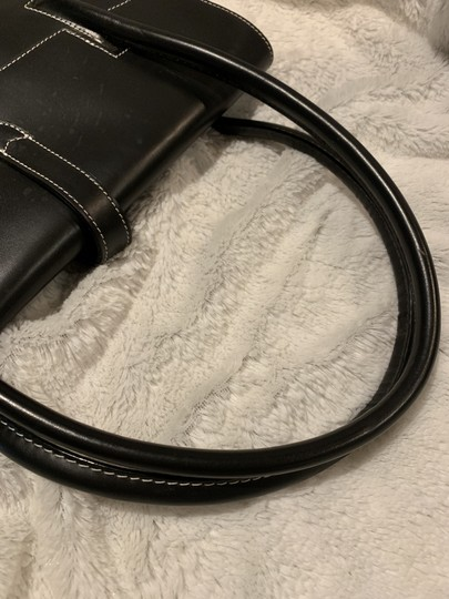 Dooney & Bourke Rubber Leather Tote in Black Image 5