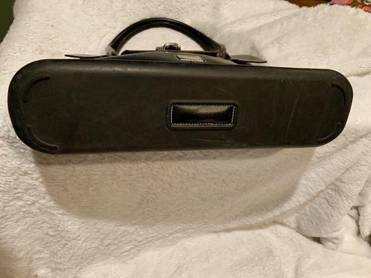 Dooney & Bourke Rubber Leather Tote in Black Image 6