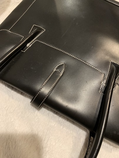 Dooney & Bourke Rubber Leather Tote in Black Image 7