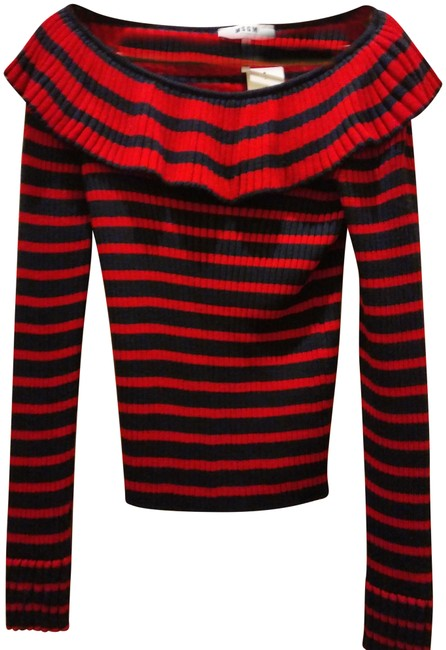 Preload https://img-static.tradesy.com/item/24199115/msgm-m-milano-striped-ruffled-knitted-red-navy-sweater-0-1-650-650.jpg