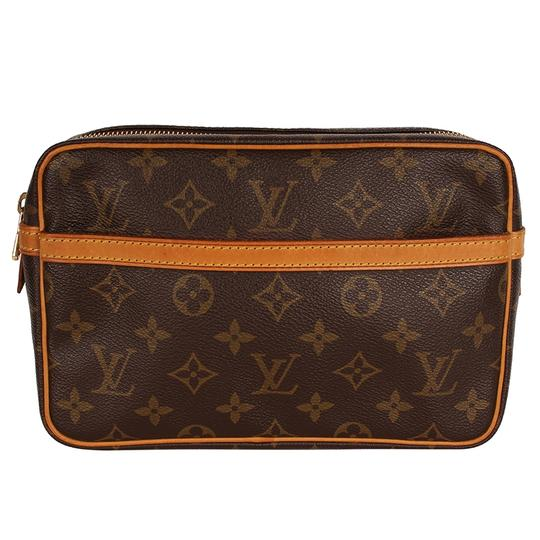 Preload https://img-static.tradesy.com/item/24199175/louis-vuitton-compiegne-or-cosmetic-6718-brown-canvas-clutch-0-0-540-540.jpg