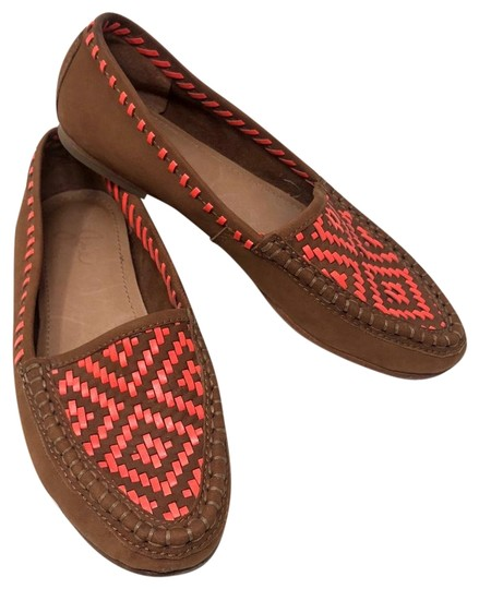 Preload https://img-static.tradesy.com/item/24199179/joie-cognac-aliso-woven-loafers-flats-size-us-65-regular-m-b-0-1-540-540.jpg