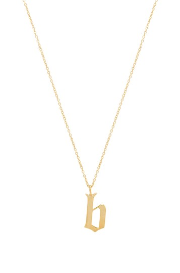 Preload https://img-static.tradesy.com/item/24199235/gold-old-english-b-pendant-necklace-0-0-540-540.jpg