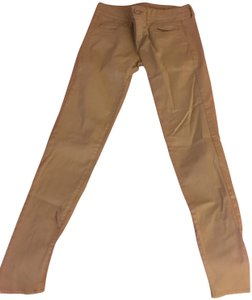 British Khaki Skinny Jeans-Light Wash