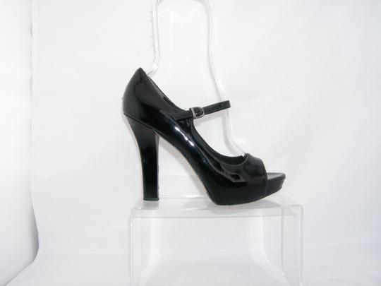Via Spiga Mary Jane black Platforms Image 10