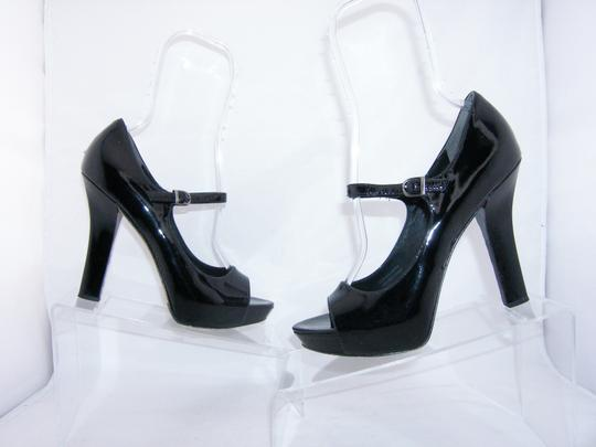 Via Spiga Mary Jane black Platforms Image 5