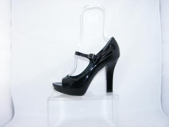 Via Spiga Mary Jane black Platforms Image 8