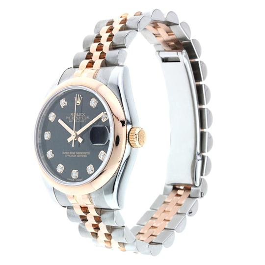 Rolex Rolex Datejust 31MM Steel and Rose Gold with Diamond Dial Image 1