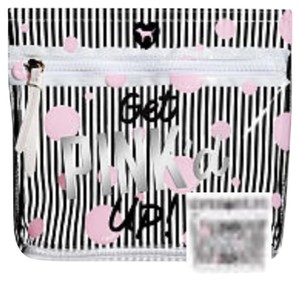 PINK PINK VS Get Pink'd Up Cosmetic Bag NWT