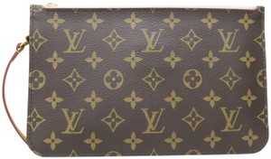Louis Vuitton Pouch Canvas monogram Clutch