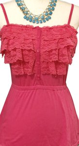302959fa83e78 Aéropostale Frilly Feminine.aero Sale Top Hot Pink Frills!-Please Look In  Closet