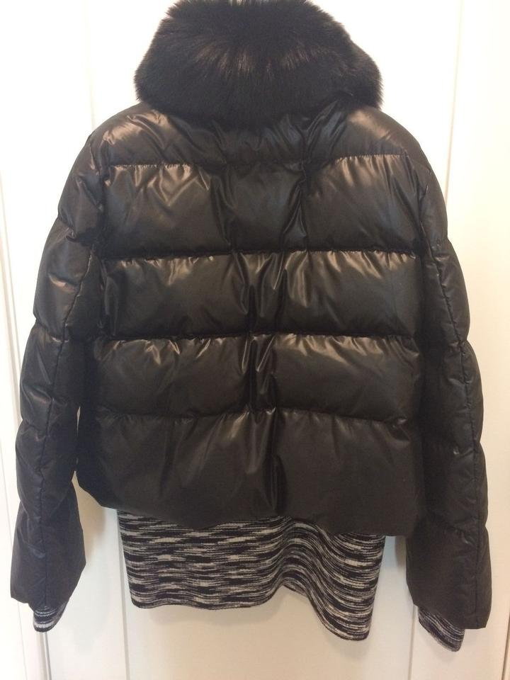 Missoni Black Fox Fur Jacket Coat Size 8 (M) - Tradesy 06f7561e4