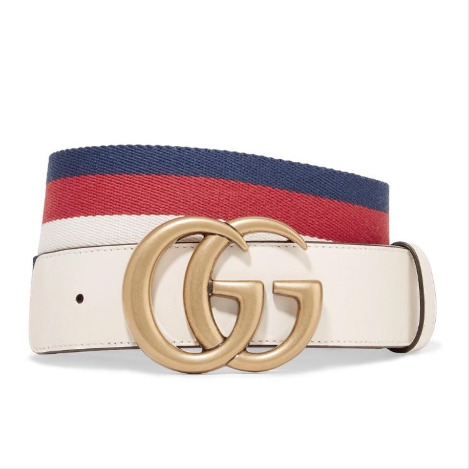 3be8fc16bec Gucci Sylvie web belt with double G buckle size 75 Image 0 ...