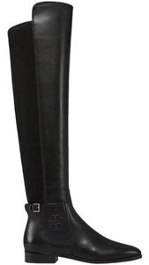 Tory Burch Winter Over The Knee Black Boots
