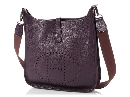 Hermès Hr.p0904.02 Ii Small Perforated Palladium Cross Body Bag