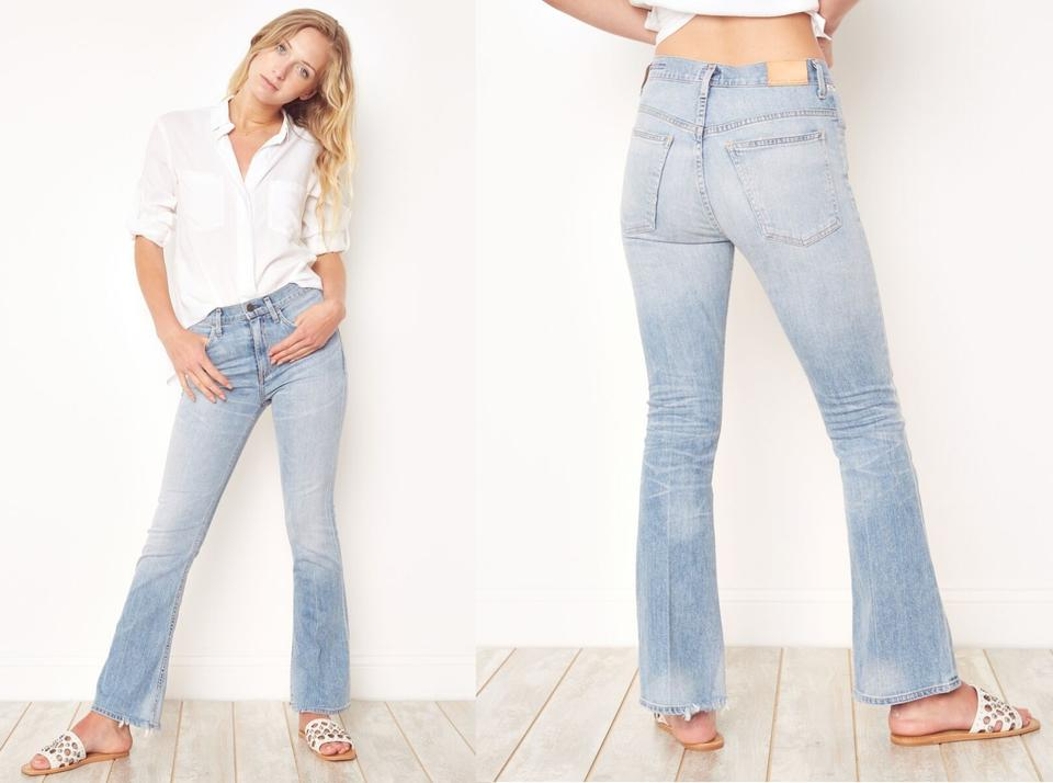 lower price with vast selection best price Citizens of Humanity Blue Kaya Mid-rise Kick Anthropologie Flare Leg Jeans  Size 24 (0, XS) 50% off retail